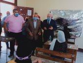 محافظ القليوبية ووكيل وزارة التعليم يتفقدان لجان الثانوية العامة ببنها