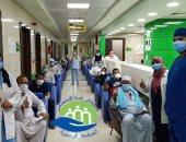صور.. خروج 27 حالة شفاء من فيروس كورونا بمستشفى إسنا للحجر الصحى