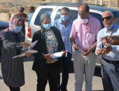 نائب محافظ جنوب سيناء تتفقد مشروعات الخطة الاستثمارية برأس سدر وأبو زنيمة وأبو رديس