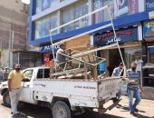 غلق مقاهى وإزالة 303 مخالفة إشغال وحملات تعقيم وتطهير بالبحيرة (صور)