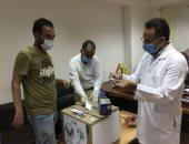 تسليم أقسام العزل بمستشفيات شمال سيناء مستلزمات طبية مقدمة من الأهالى (صور)