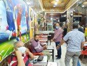 صور .. أحياء الإسكندرية تكثف حملاتها على المقاهى لرصد مخالفة الإجراءات الإحترازية