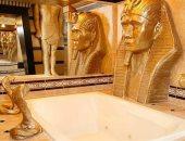 الديكور الفرعونى تريند على السوشيال ميديا.. شوف الأفكار من غرفة النوم للحمام