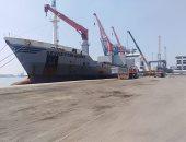 تفريغ 860 طن حديد وتداول 21 سفينة بموانئ بورسعيد