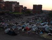سيبها علينا .. شكوى من انتشار القمامة بمنطقة أحمد العربى بطنطا