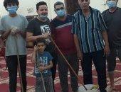 شباب قرية منيحة بأسوان مستمرون فى تعقيم المساجد وفقا للإجراءات الاحترازية