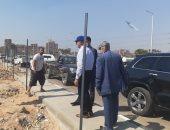 محافظ القليوبية: تجميل حديقة منطقة ربط محور مصر الجديدة بطريق شبرا بنها الحر