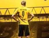 هالاند يرتدى القميص رقم 9 مع دورتموند الموسم المقبل