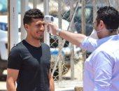 اختبار طبي لـ طارق حامد فى معسكر الزمالك بعد إصابة سموحة