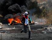 إصابة طفل فلسطينى بالرصاص الحى و4 شبان خلال مواجهات مع الاحتلال الإسرائيلي