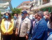 فيديو.. وزيرا التنمية المحلية والإسكان يتفقدان عددا من المشروعات برأس البر