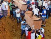 مقبرة جماعية لدفن أكثر من 170شخصا ضحايا انهيار أرضى بمنجم فى ميانمار