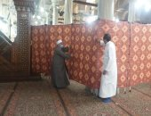 إنشاء حرم آمن حول ضريح الحسين لمنع التزاحم داخل المسجد.. صور