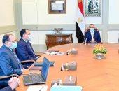 """السيسى يوجه بالإسراع فى إنشاء المخازن الاستراتيجية للتخزين الطبى لتغطية احتياجات الاستهلاك الحالي والمستقبلي من المستلزمات الطبية والدواء.. الرئيس يستعرض تطورات تفعيل """"صندوق مصر السيادي للاستثمار والتنمية"""""""