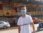 """""""رشاد"""" يشارك صحافة المواطن صورته بالكمامة فى محافظة القليوبية"""