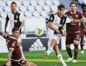 يوفنتوس يتفوق بثنائية على تورينو بالشوط الأول فى الدوري الايطالي.. فيديو