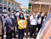 وزير التنمية المحلية يشيد بجهود محافظة دمياط فى تنفيذ سوق حضارى.. صور