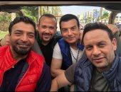 """مصطفى قمر يطرح """"زحمة الأيام"""" مع الشاعرى وهشام عباس وإيهاب توفيق بعد أسبوعين"""