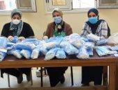 تصنيع 100 ألف كمامة طبية بجامعة الإسكندرية لتوزيعها على منتسبى الجامعة