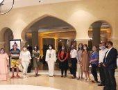 نائبا محافظ جنوب سيناء ووزير السياحة يلتقيان مع وفد تسويق سياحى