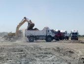 صور.. إدارة حماية النيل بالأقصر ترفع 2000 متر مخلفات
