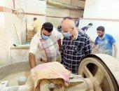 فيديو وصور.. وكيل صحة الشرقية: غلق 10 مخابز بلدية لوجود ديدان وسوس في أدوات العمل