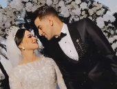 محمد الشامى مهاجم الإسماعيلى ينشر صورة من حفل زفافه