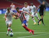 تعرف على أسماء لاعبى أتلتيكو مدريد المصابين بكورونا قبل مواجهة لايبزيج