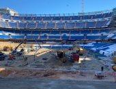 """أعمال تطوير """"سانتياجو برنابيو"""" ملعب ريال مدريد"""
