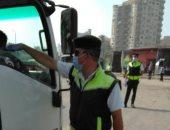 أمن أسوان يرصد 352 مخالفة مرورية وضبط سائق لتعاطى المخدرات