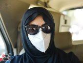 ميرفت أمين ودلال عبد العزيز في جنازة رجاء الجداوي