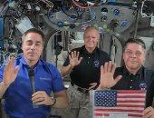 هكذا احتفل رواد الفضاء الأمريكيون بيوم الاستقلال من خارج الأرض