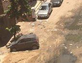 شكوى من انتشار مياه الصرف الصحى بمنطقة أرض الجمعيات بالإسماعيلية