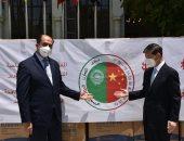 الصين تهدى الجامعة العربية مستلزمات طبية لمكافحة فيروس كورونا