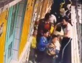 كاميرا مراقبة ترصد إجلاء 176 طفلا خلال 17 ثانية عند حدوث زلزال بالصين.. فيديو