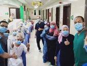 صحة الأقصر تعلن خروج 16 حالة شفاء من كورونا من مستشفى إسنا للحجر