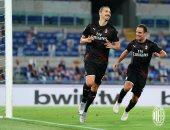 ملخص وأهداف مباراة لاتسيو ضد ميلان فى الدوري الايطالي