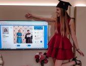 رغم أنف كورونا.. جامعة فى ليتوانيا تحتفل بتخرج طلابها بطريقة استثنائية.. صور