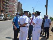 محافظ القليوبية يقود حملة لإزالة المبانى المخالفة وإزالة برج من 13 طابقا