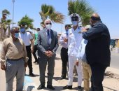 محافظ جنوب سيناء يتابع عددا من المشروعات التنموية الكبرى بطور سيناء
