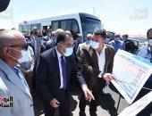 جولة تفقدية لرئيس الوزراء للمحاور والطرق الجديدة بمدينة 6 أكتوبر