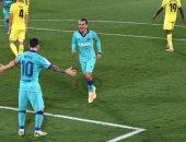 برشلونة يُغرق الغواصات الصفراء برباعية فى الدوري الإسباني