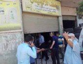 صور.. تحرير 35 محضر إشغال طريق ومصادرة يافطة إعلان بطنطا خلال حملة لإشغالات