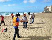رئيس إدارة المصايف: البعض بتوجهون فجرا إلى البحر للهرب من مراقبى الشواطئ