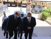 صور ..اللواء طارق الفقى يزور محكمة سوهاج الإبتدائية