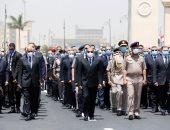 مصطفى الفقى: جنازة الفريق محمد العصار تليق بمكانته ودوره الوطنى العظيم
