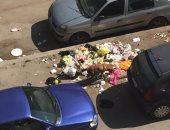 شكوى من تراكم القمامة والكلاب الضالة فى شارع أبو داوود بمدينة نصر