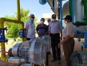 تطوير محطة مياه شرب بقرية الصحوة فى الداخلة بتكلفة 3 مليون جنيه