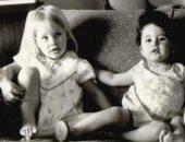 صورة من طفولتهما.. دينا رامز تهنئ ابنة عمها شيرين رضا: شريكتى فى كل الجرائم