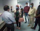 نائب مدير صحة الأقصر تتفقد العمل بمستشفى الحميات